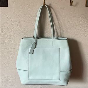 J. Crew Leather All-Day Tote Bag